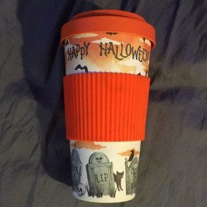 NWT Bamboo Happy Halloween Travel Mug